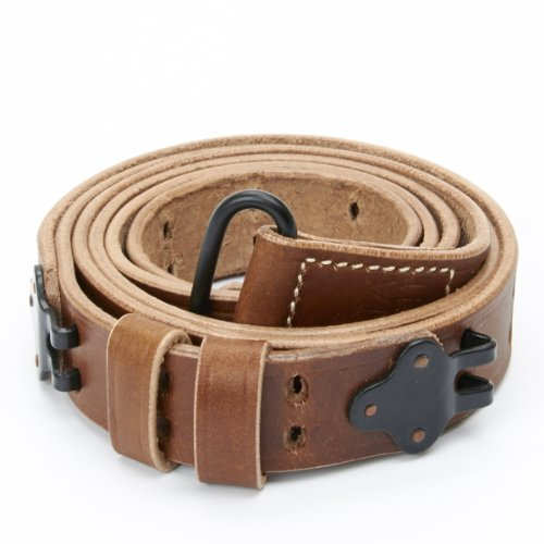 U.S. M1 Garand WWII 1907 Pattern Leather Sling - Leather & ()