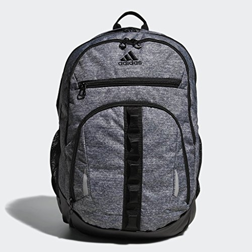 adidas Prime Backpack, Onix Jersey/Black, One Size