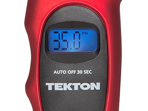 TEKTON 5941 Digital Tire Gauge, 100 PSI