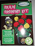 DuneCraft Brain Growing Kit ~ Zombie Food, Keep Yourself Self, Plant Kit