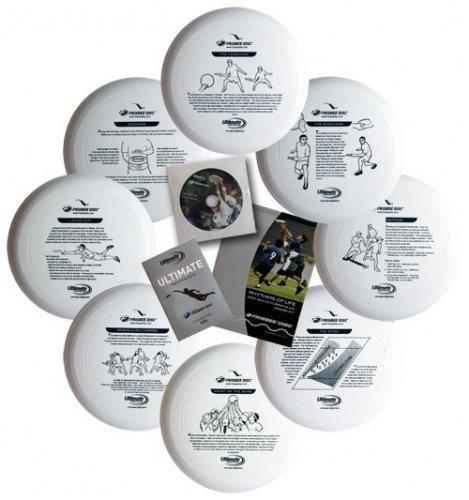 Wham-O Junior 130 Gram Ultimate Frisbee Outreach Kit by Wham-O
