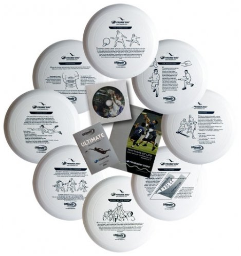 Wham-O Junior 130 Gram Ultimate Frisbee Outreach Kit