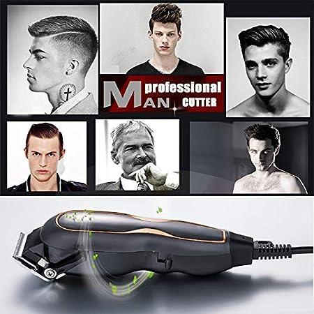 YYSDH 2020 Profesional Pelo Clippers Mudo Ultra Maquinilla Eléctrica para Cortar El Pelo Salón Peluquero Hombres Máquina para Cortar Cabello con Cable De 220V