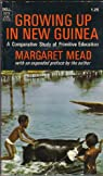 Growing up in New Guinea: A comparative study of primitive education (Laurel edition) par Mead