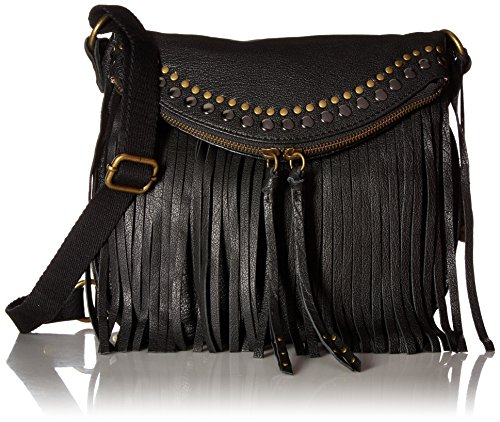 The Sak Silverlake Crossbody, Black Fringe by The Sak
