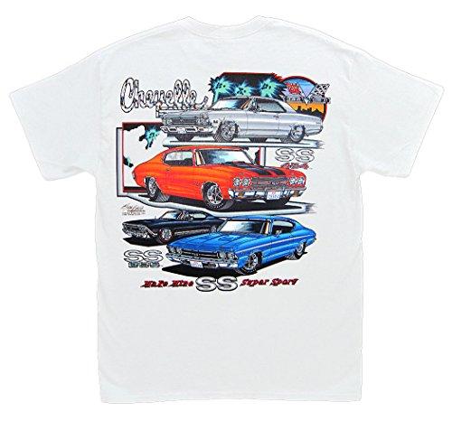524bd37b Hot Shirts Make Mine SS Chevelle T-Shirt: Chevrolet Chevy Malibu SS396 SS454  1966