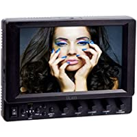Ikan Corporation VX7i-PG6 7-Inch 3G-SDI LCD Monitor with IPS Panel with Panasonic PG6 Battery Plate (Black)