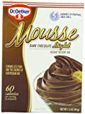 Oetker Mousse Supreme Light,Premium Mouse Mix, Dark Chocolate Truffle, 1.5-Ounce Boxes (Pack of 12)