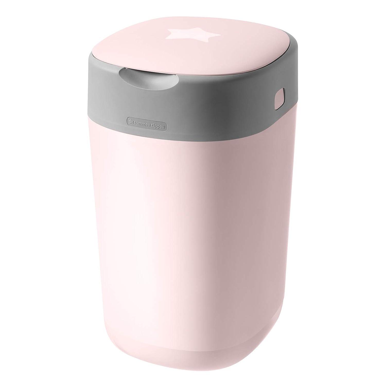 6 250790310 Tommee Tippee Twist /& Click Windeleimer inkl 7 Nachf/üllkassetten Dezentes-Pink