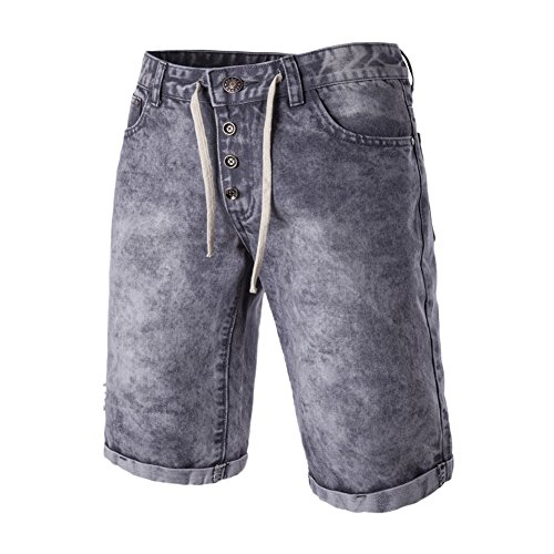Chen Men's Hot Sale Casual Shorts Jean Denim Relaxed-Fit Boardshort