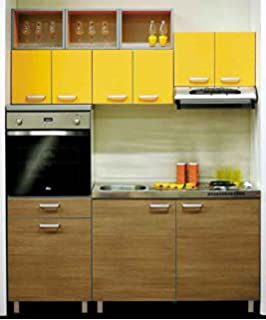 Yes Kitchen Compact Smart Kitchen Stylish Length 5 Width 2 Feet And Height  7 Feet