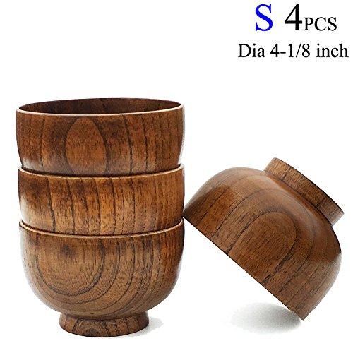 wood bowl rice - 1