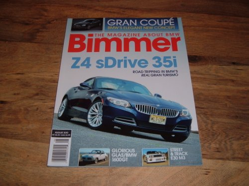 Bimmer magazine, The magazine about BMW, August 2010 issue-Z4 sDrive 35i
