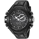 Timex Men's TW5M23300 DGTL 47mm Bold Combo Black/Negative Resin Strap Watch