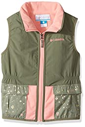 Columbia Big Girls\' Next Destination G Lined Vest, Cypress, Medium