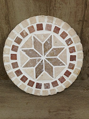 Handcrafted Circle - HANDCRAFTED GARDEN STEPPING STONE - CIRCLE