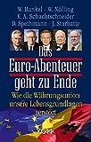 Das Euro-Abenteuer geht zu Ende: Wie die Währungsunion unsere Lebensgrundlagen zerstört