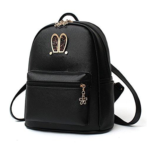 livre plein de Oreilles en à lapin sports air Dunland en étudiants sac à Noir voyage de dos sac sac dos TASSwRqZO