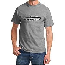 1969 Pontiac Firebird Convertible Classic Outline Design Tshirt