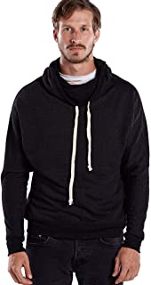 product image for US Blanks Unisex French Terry Snorkel Pullover Sweatshirt XS Tri Charcoal