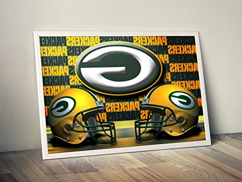 Green Bay Packers Limited Poster Artwork - Professional Wall Art Merchandise (More (8x10)