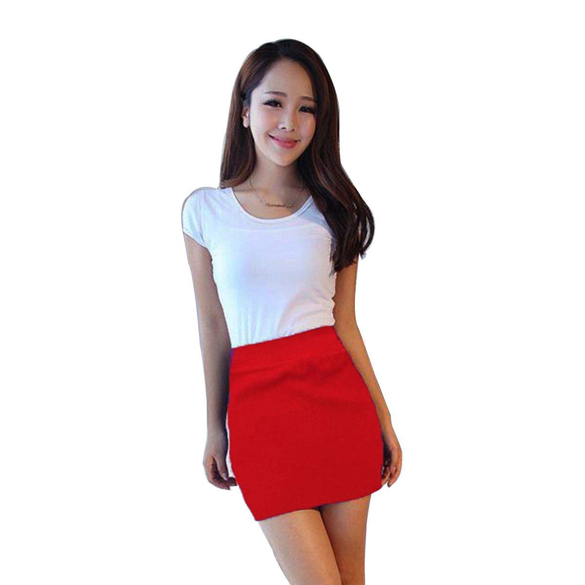 9723205eae6b CA Mode Women's OL High Waist Bodycon Micro Mini Pencil Skirt ...
