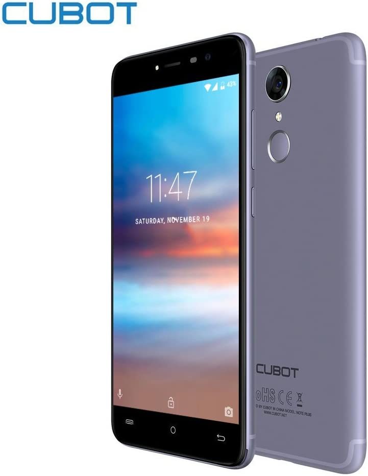 Smartphone Libre - CUBOT Note Plus 4G Cámara Teléfono 16.0MP+16.0MP (5.2