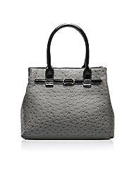 Hynes Victory Ostrich Textures Ladies Top Handle Handbags