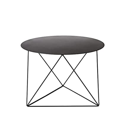 Beau Image Unavailable. Image Not Available For. Color: HAIZHEN Table Simple  Small Round Table Wrought Iron Side ...