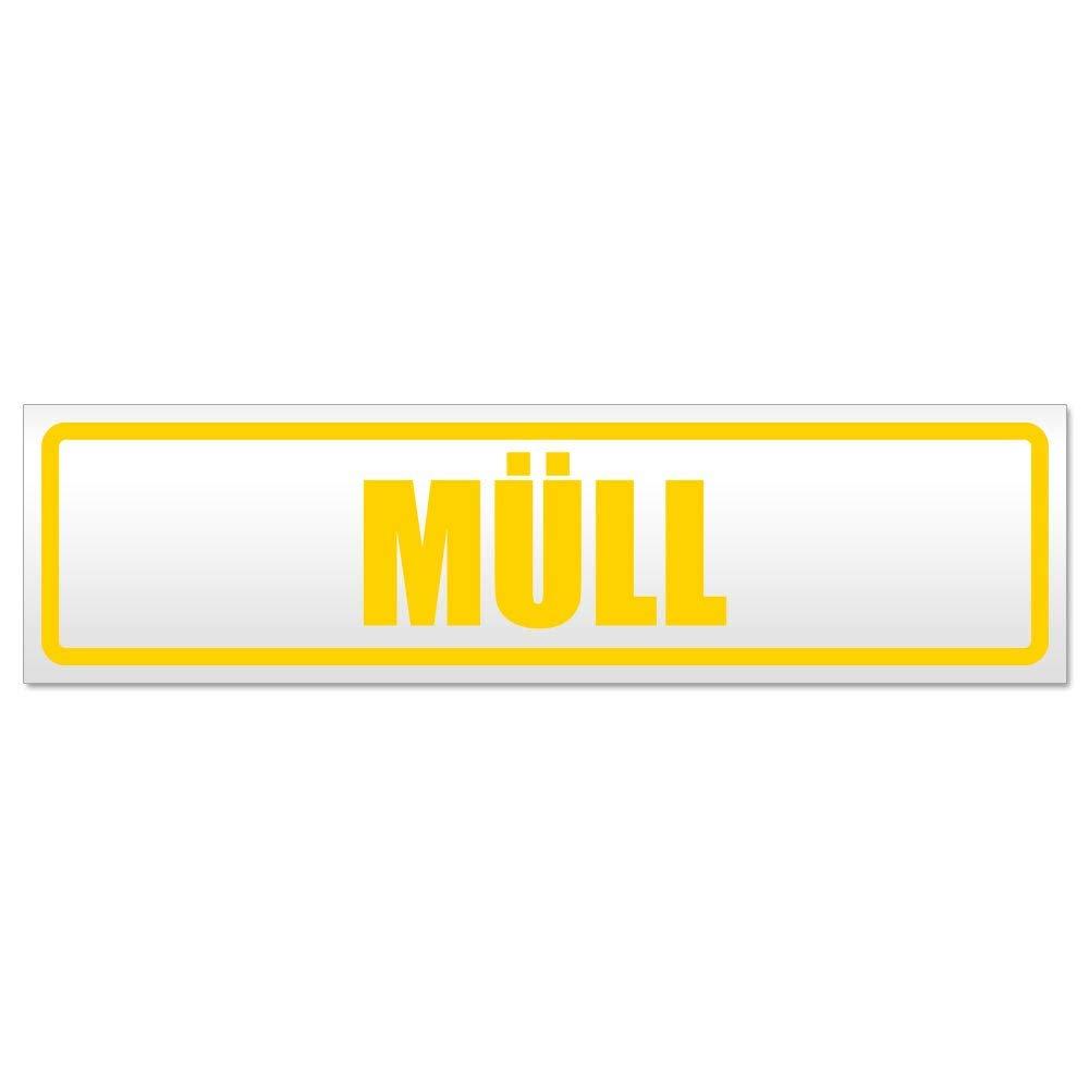 Kiwistar M/üll Magnetschild Schild magnetisch