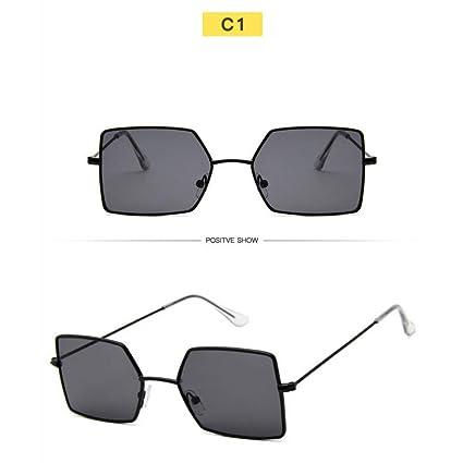 Amazon.com : YLNJYJ Señoras Sunglasse Aleación De Metal ...
