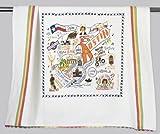 Catstudio Austin Dish Towel - Original Geography Collection Décor 089D(CS)
