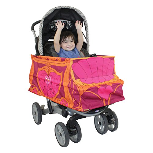 Princess Carriage Costume Turns Stroller Into A Baby, Toddler Ride On Car Toy