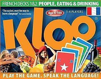 30db8877e140 Jeux de cartes linguistiques de KLOO   Apprenez à parler français (depuis  l anglais
