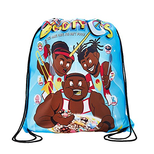 The New Day Booty-O's WWE Drawstring Bag by WWE