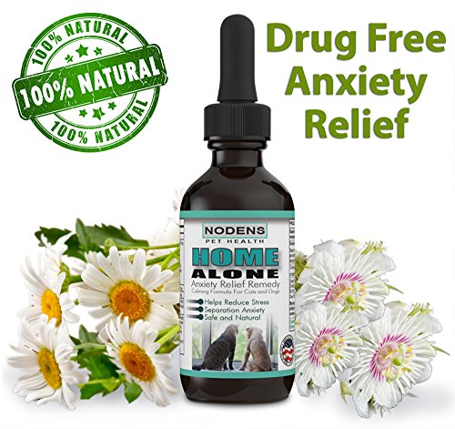 - Home Alone Anxiety Relief for Pets - Cat Stress Relief - Relaxant for Dogs - 100% Natural - Safe Herbal formula - Calming Aid for Fireworks, Thunder Storms, Barking, Aggression, Stress Free Pet Travel