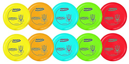 Innova DX Aviar Putt and Approach Disc Golf Putter Practice Pack of 10 (173-175g) Colors Will Vary