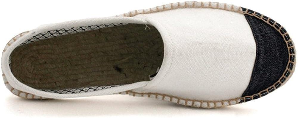 edv0d2v266 A Pedal Couple Lazy Cloth Shoes Hemp Shoes