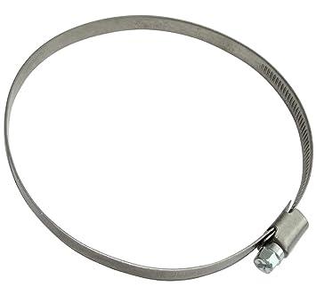 Alu tubo flexible de 5 M 50 mm forrado de Alu tubo de ventilaci/ón 5 M 50 mm Alu-Flex-tubo Alu tubo de ventilaci/ón