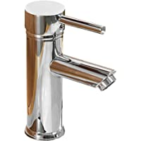 Greenspring Single Handle Bathroom Sink Faucet One Hole Deck Mount Lavatory Faucet Stainless Steel ,Chrome Finish