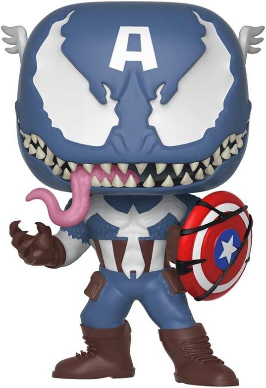 Funko- Marvel Venom Idea Regalo, Estatua, colección, cómics, Manga, Serie TV, Multicolor, estándar, 32686