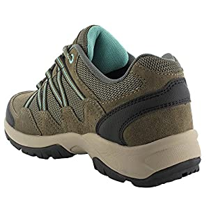 Hi-Tec Women's Florence Low Waterproof Multisport Shoe, Taupe/Mint, 8 M US