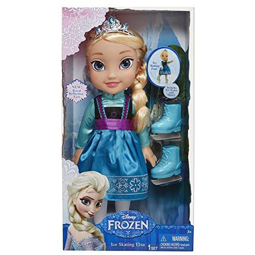 Disney Reine des Neiges - 31011 - Poupée Mannequin - Elsa Patineuse - 38 Cm