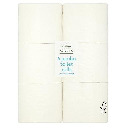Cushelle White Rolls 4 Rolls Amazon Co Uk Prime Pantry