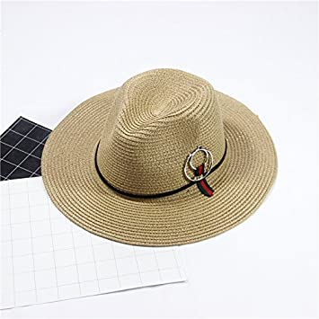 09394a69991 Hatrita-J The Hat Can Be Folded In Summer Go On Vacation Prevent Bask In  Beach Hat Big Eaves Sun Visor Outdoor Sun Hat D  Amazon.co.uk  Sports    Outdoors