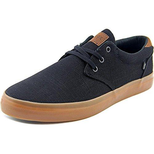 Hemp Skate Shoes (Globe Men's Willow Skateboarding Shoe, Black Hemp/Gum, 12 M US)