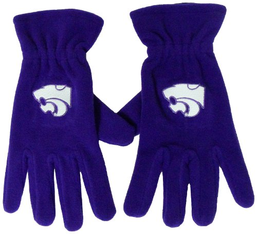 NCAA Kansas State Wildcats Men's Fleece Gloves
