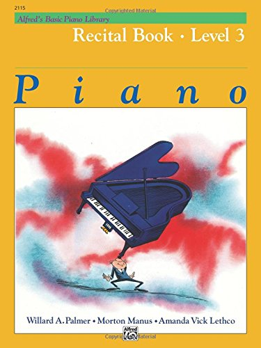 Download Alfred's Basic Piano Library Recital Book, Bk 3 pdf