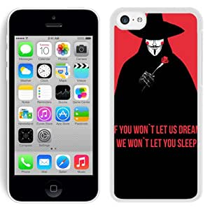We Wont Let You Sleep (2) Durable High Quality iPhone 5C Phone Case