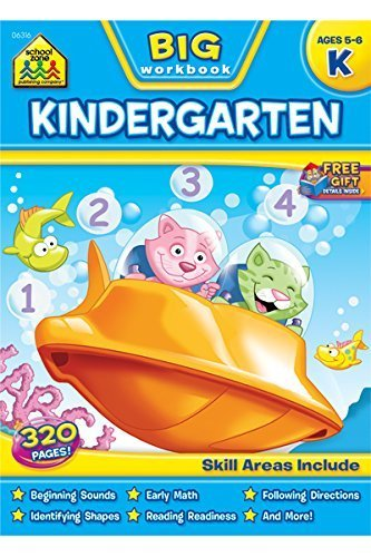 Big Kindergarten Workbook by School Zone Publishing Company Staff (2014-05-14)